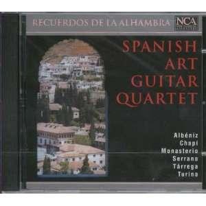 Recuerdos de la Alhambra: Spanish Art Guitar Quartet, Albeniz, Chapi