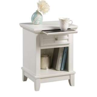 Home Styles Arts and Crafts White Nightstand 5182 42