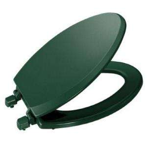 KOHLER Triko Deluxe Molded Toilet Seat, Elongated, Closed front With