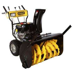 in. 15 HP Commercial Duywo Sage Gas Snow Blower wih Elecric Sar