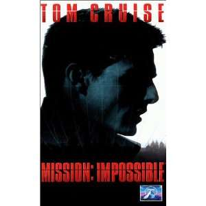 Mission Impossible [VHS] Tom Cruise, Jon Voight, Emmanuelle Béart