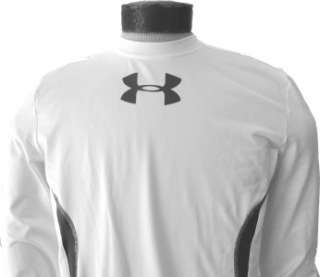 Mens $59 UNDER ARMOUR Coldgear FITTED Large OVERSIZED LOGO SHIRT L