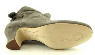 BOUTIQUE 9 LINDA Grey Suede Womens Shoes Boots 6.5 M