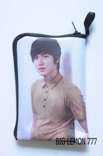 Lee Min Ho Zipper Mobile Phone Handy Case Bag Pouch B2