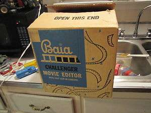 Vintage Baia Challenger 8mm Movie Editor Unused In Box MINT
