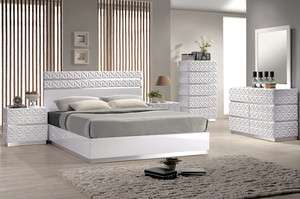 Modern White Lacquer Bedroom Furniture On PopScreen