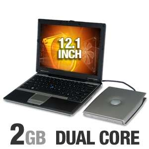 Dell Latitude D420 Notebook Computer   Intel Core Duo U2500 1.2GHz