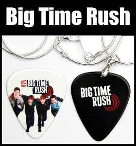 BIG TIME RUSH Guitar Pick Necklace + Matching Pick