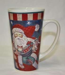 Santa Claus Christmas Cappuccino Latte Coffee Mug Cup