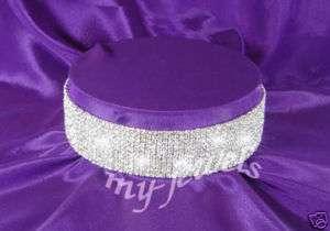 10 Row Bridal Stretch Crystal Rhinestone Choker C021