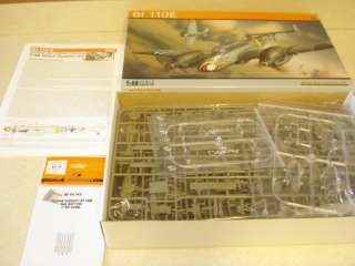 EDUARD BF 110E* *1/48TH SCALE MODEL AIRPLANE KIT*