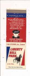 Liberty Bell Park Harness Racing Philadelphia PA MB
