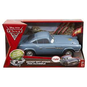 Disney Pixar Cars 2 Secret Spy Attack Finn McMissile