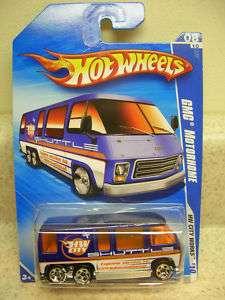 Hot Wheels 2010 GMC Motorhome  BF GOODRICH