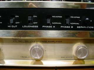Very Rare EL34 Knight KN 780 Stereo Tube Integrated Amplifier Great