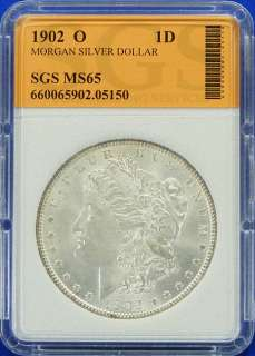 1902 O GEM UNCIRCULATED HIGH GRADE MORGAN SILVER DOLLAR
