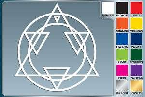 Full Metal Alchemist ALS ALCHEMY Logo cut vinyl decal