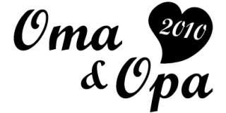 Für alle stolzen Omas und Opas 2010, auch prima als Geschenk zur
