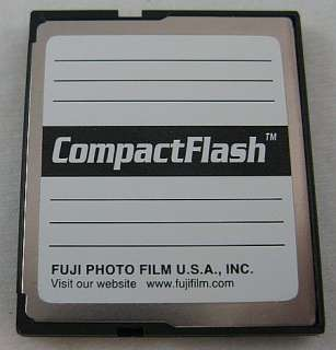 Fujifilm 64MB Compact Flash Memory Picture Card CF