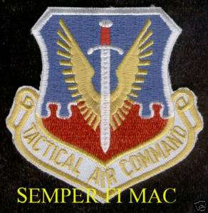 AUTHENTIC TACTICAL AIR COMMAND PATCH US AIR FORCE TAC |