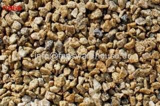 25 kg gelb granitsplitt zierkies kies stein zen garten