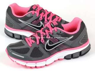Nike Wmns Air Pegasus+ 28 Anthracite/Black Laser Pink Dark Grey 2011