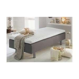 Einzelbett/Boxspringbett GERALD, 120 x 200, grau  Küche