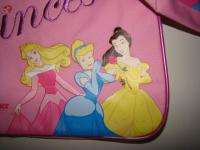 NWT DISNEY PRINCESS 2 Piece Overnight Bags Set 2 Bags