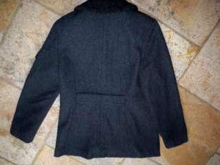 Sport Mac New York Wool Charcoal Jacket Womens Large