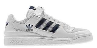 New Adidas Originals Mens FORUM LOW RS Shoes White Retro Trainers