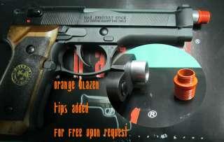 BLACK Biohazard Resident Evil Airsoft Replica Pistol gun Samurai Edge