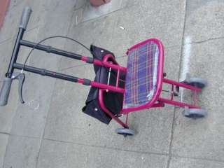 All purpose shopping cart Handicap DisabilityRest Chair