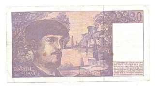 France 20 Francs 1997 VF CRISP Pre Euro Banknote P 151