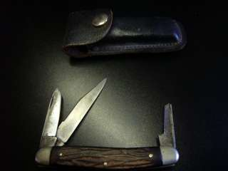 ESTATE † RARE H BOKER & CO SOLINGEN GERMANY POCKET TRENCH KNIFE