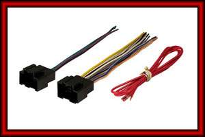 GM CHEVY CAR CAR STEREO RADIO INSTALL WIRING HARNESS WIRE ADAPTER