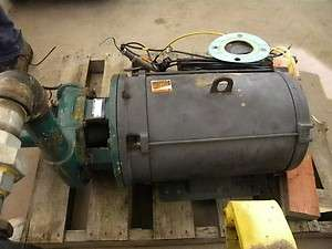 Used 30 HP Irrigation Pump Station Us Electric Motors Berkeley B2ZPHS