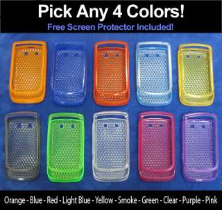 pc Hexed & Flexed TPU Case for Blackberry Torch 9800