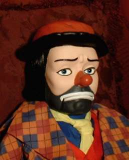 HAUNTED Creepy Clown Ventriloquist doll EYES FOLLOW YOU