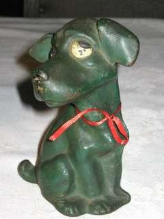 ANTIQUE DOG SCULPTURE DOORSTOP TAYLOR COOK CAST IRON HUBLEY GARDEN