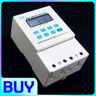 110V Digital LCD Power Programmable Timer Time switch Relay