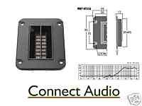 Hi Fi Ribbon Tweeter, very high quality, square plate.