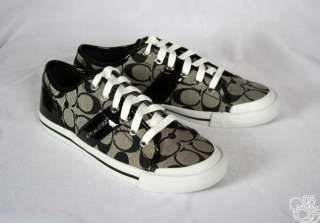 12CM Signature C Black / White Womens Sneakers Shoes New A1780