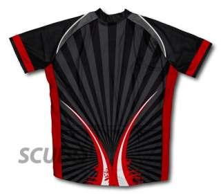Black Red Striker Cycling Jerseys All sizes Bike