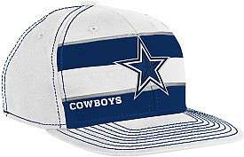 Dallas Cowboys 2011 Player Sideline Hat White Reebok 2011