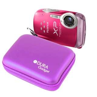 Digital Camera Purple Case For FujiFilm FinePix F550EXR, T200, AX350