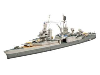 Revell Model Kit   U.S.S. Indianapolis (CA 35) Ship   1700 Scale