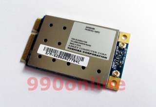 TOSHIBA ATHEROS ABG MINI PCI E 54M WIRELESS G/WIFI CARD