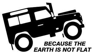 Landrover Defender 4X4 Off Road graphic,decal,sticker
