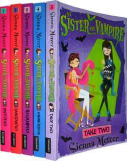 My Sister the Vampire Collection 5 Books Set Pack (Take Two