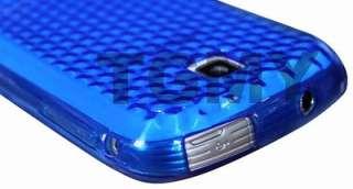 BLUE DIAMOND GEL CASE FOR SAMSUNG GALAXY MINI S5570